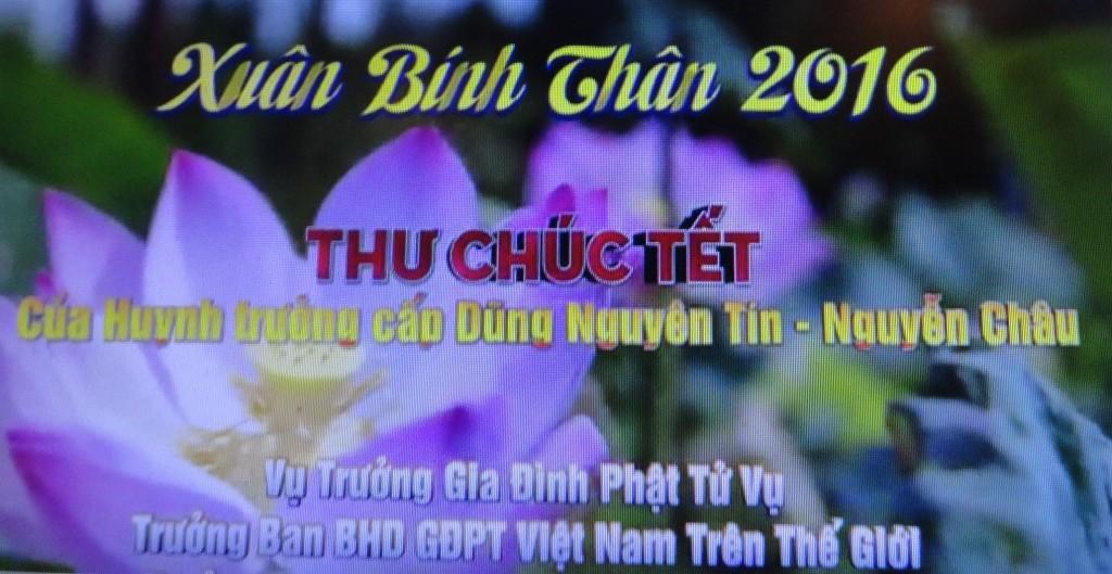 THU CHUC TET