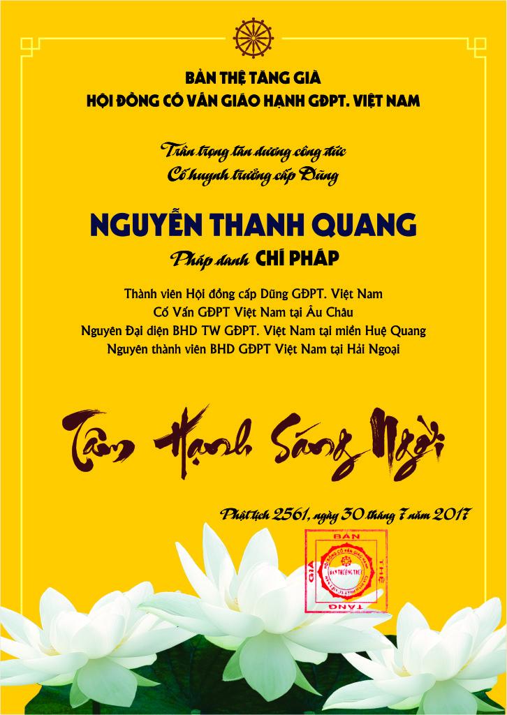 Bang tuyen duong cong duc cua anh Nguyen Thanh Quang