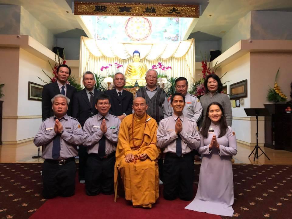 Lễ Thọ Cấp tại Miền Khuông Việt, GĐPT VN tại Hoa Kỳ