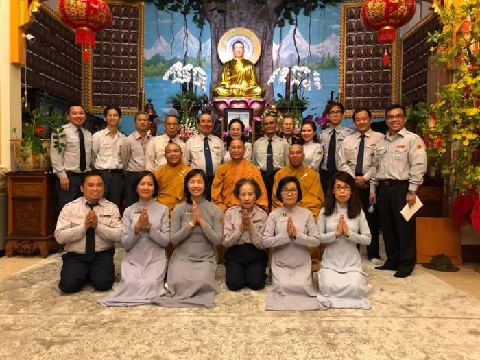 Lễ Thọ Cấp Tấn-Tín,GĐPTVN tại Hoa Kỳ