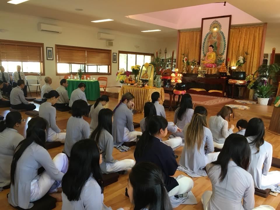 Lễ Tưởng Niệm Giác Linh Hòa Thượng Đức Chơn – GĐPTVN tại Úc Đại Lợi