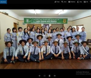Hôi Thảo Kết Khóa  Huyền Trang 3 GĐPTVN tại ÚC ĐẠI LỢI