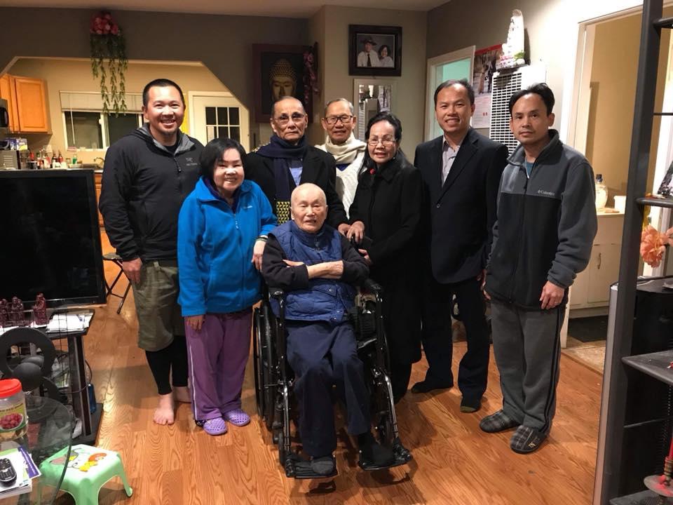 Huynh Trưởng Hoa Kỳ ghé thăm Huynh Trưởng Cấp Dũng Tâm Vinh và Nguyên Thanh